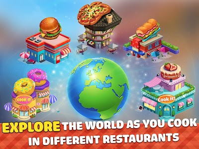 screenshot of Cook It! Cooking Games Craze & Restaurant Games version 1.1.10
