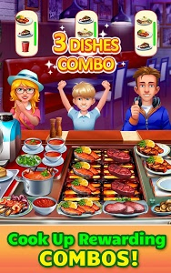 screenshot of Cooking Craze: Crazy, Fast Restaurant Kitchen Game version 1.34.0