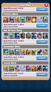 screenshot of Counter Deck Calculator for CR version 1.3.0