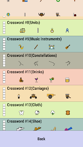 screenshot of Crossword version 1.18