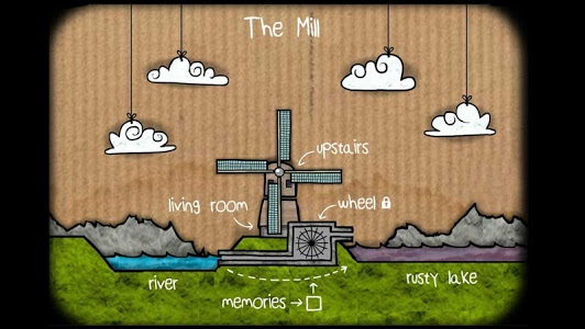 screenshot of Cube Escape: The Mill version 2.1.1