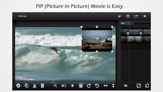 screenshot of Cute CUT - Video Editor & Movie Maker version 1.8.8