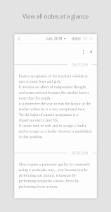 screenshot of DAILY NOTE - Day Note, Diary version 4.1.1