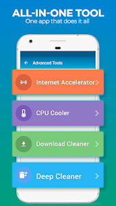 screenshot of dfndr performance: clean, boost, speed & space version 2.16.9