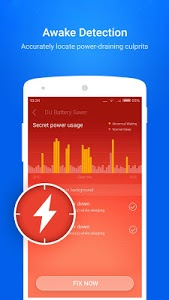 screenshot of DU Battery Saver - Power Saver version Varies with device
