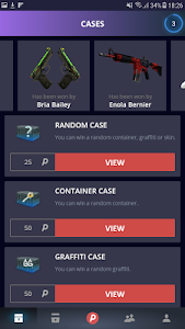 screenshot of DailySkins - GO Cases & Skins version 1.2