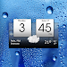 Digital clock & world weather