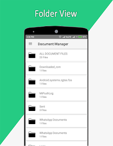 screenshot of Document Manager & DMS version 1.15