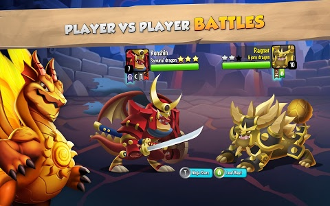 screenshot of Dragon City version 8.3.1