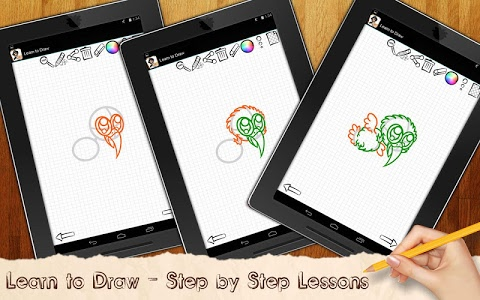 screenshot of Drawing Lessons Chibi Anime version 1.02