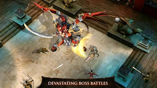 screenshot of Dungeon Hunter 4 version 1.9.1d