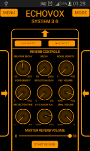 screenshot of ECHOVOX System 3 version 3.0