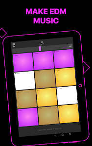 screenshot of Electro Drum Pads 24 version 2.5.2