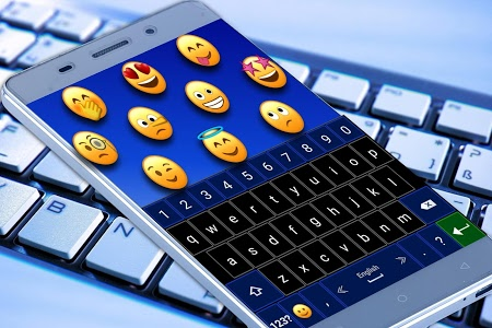 screenshot of Emoji Keyboard version 6.0
