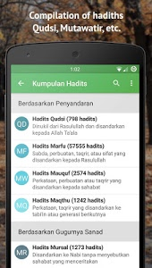 screenshot of Ensiklopedi Hadits 9 Imam version 2.0.9