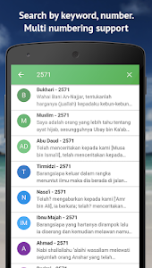 screenshot of Ensiklopedi Hadits 9 Imam version 1.0.16