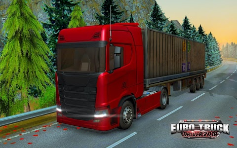 screenshot of Euro Truck Driver 2018 version 2.2