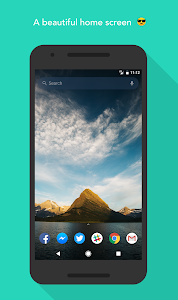 screenshot of Evie Launcher version Varies with device