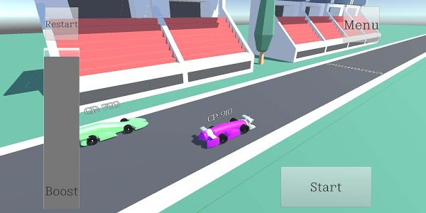 screenshot of F1 Drag Racing version 1.1