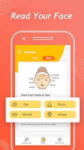 screenshot of Face Me – Face Reading Physiognomy & Horoscope version 1.0.3.1