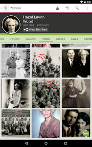 screenshot of FamilySearch Tree version 3.1.1