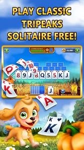 screenshot of Farmship: TriPeaks Solitaire version 4.14.3968.0