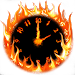 Download Fire Clock With Alarm 3.0 APK