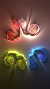 screenshot of Fluid Simulation Free version 1.5.3