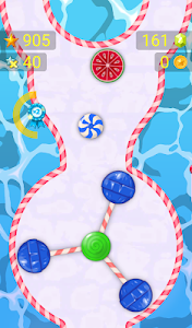 screenshot of Follow the Line 3 - Sweets Rush 2D Deluxe version 1.31