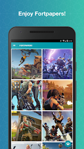 screenshot of Fortpapers - Battle Royale Wallpapers version 1.0.4