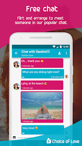 screenshot of Free Dating & Flirt Chat - Choice of Love version 4.0.2