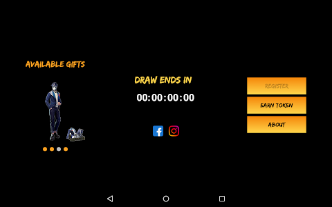 screenshot of Free Fire Gifts version 1.4.1