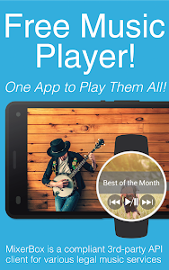 screenshot of Free Music Player(Download now version 5.65
