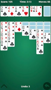screenshot of Free Solitaire version 1.0