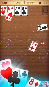 screenshot of Free Solitaire version 3.0.1