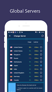 screenshot of Free VPN Unlimited Proxy - Proxy Master version 1.8.9