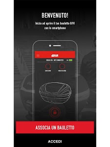screenshot of GIVI version Varies with device