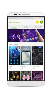 screenshot of GO Launcher S – 3D Theme, Wallpaper & Sticker version 1.09