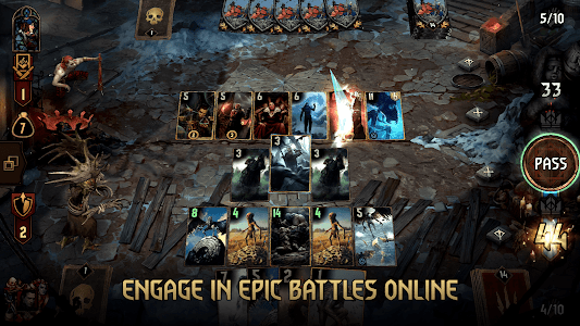 screenshot of GWENT: The Witcher Card Game version 6.2.1