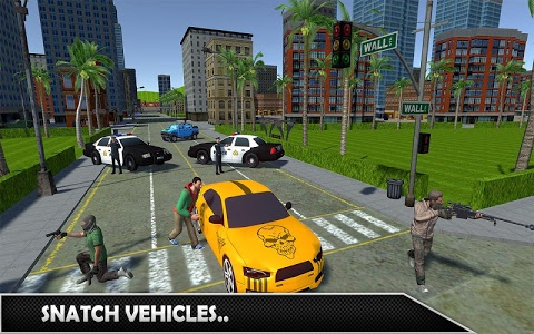 screenshot of Gangsters Crime Cars Drive: Free Simulation 2018 version 1.1