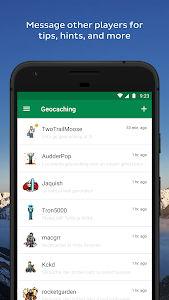 screenshot of Geocaching® version Varies with device