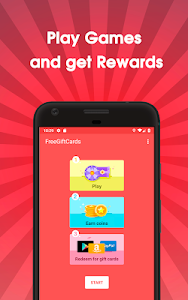 screenshot of Gifty - Free Gift Cards & Rewards version v-1.0