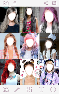screenshot of Girls Hairstyles version 1.7.7