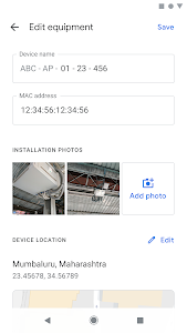 screenshot of Google Station Onsite version 1.0.0.251687266
