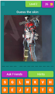 screenshot of Guess The Skin From Apex version 4.1.0z