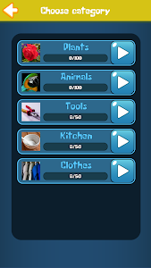 screenshot of Guess The Word version 2.01