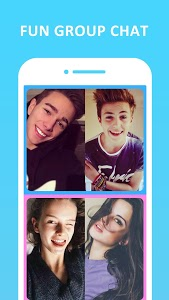 screenshot of HOLLA Live: Random Video Chat, Meet New People version Varies with device