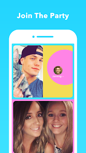 screenshot of HOLLA: random video chat version Varies with device