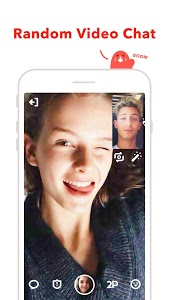 screenshot of HOLLA: random video chat&dating version Varies with device