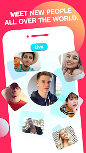 screenshot of HOLLA: Live Random Video Chat, Meet New People version 4.2.1